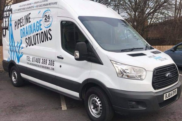 Pipeline Drainage Solutions Newcastle van